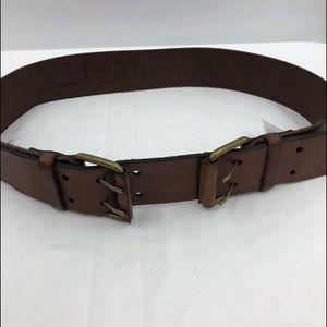 Loft leather belt size medium